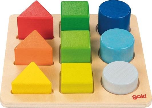 Formen- und Farbsortierbrett