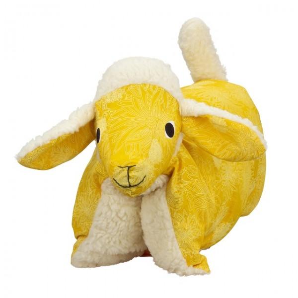 Kuscheltier / Kissen Lamm Sonne-Teddy