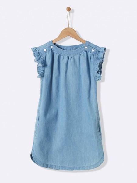 Kleid leichter Denim