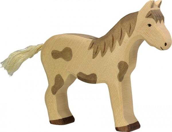 HOLZTIGER Pferd gefleckt, stehend