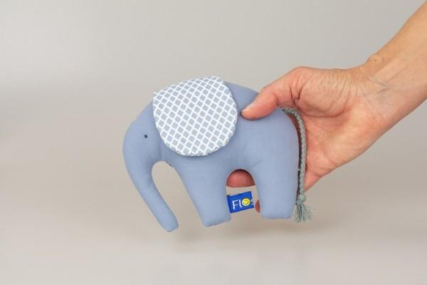 Greifling Elefant Bleu
