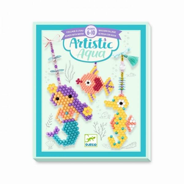 Perlen-Bastelset: Artistic Aqua - Sea charm