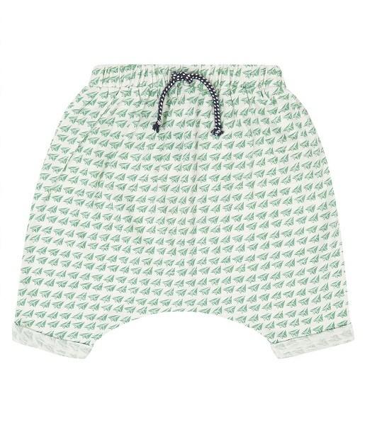 Baby Shorts mit Papierflieger-Druck MAGESH