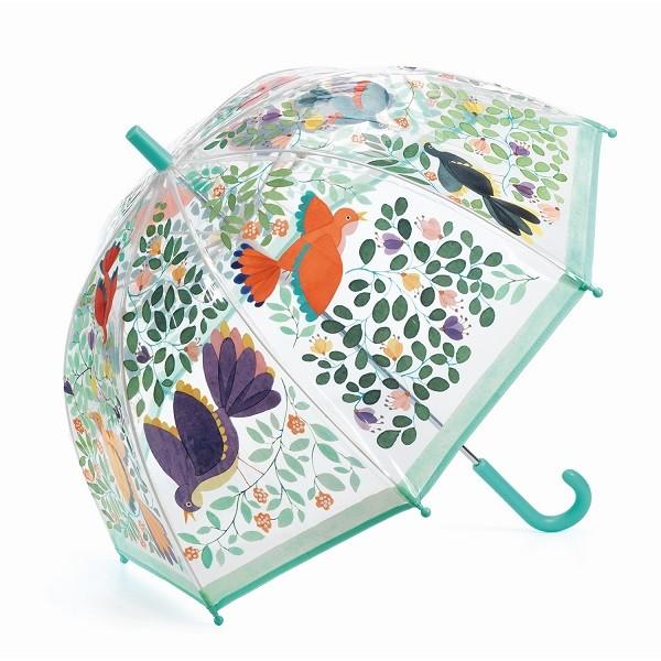 Regenschirm Blumen & Vögel