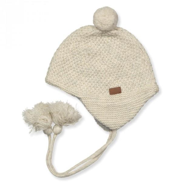 Baby - Mütze aus Wolle mit Baumwollfutter