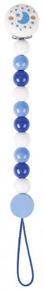 Schnullerkette blau