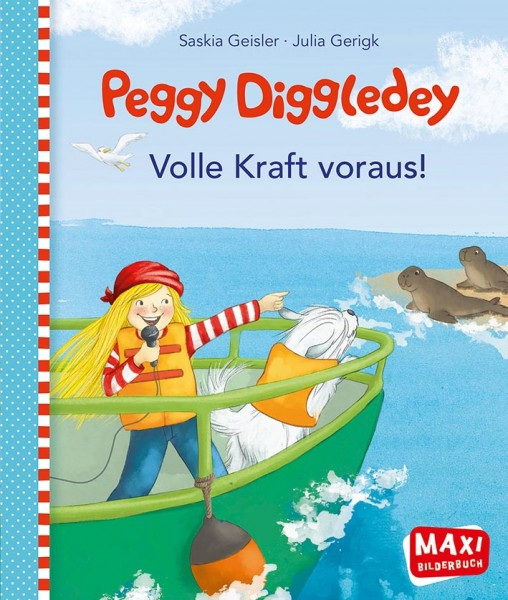 """Maxibuch Peggy Diggledey """"Volle Kraft voraus!"""""""