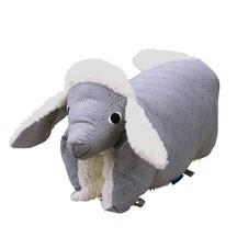 Kuscheltier / Kissen Lamm grau-teddy