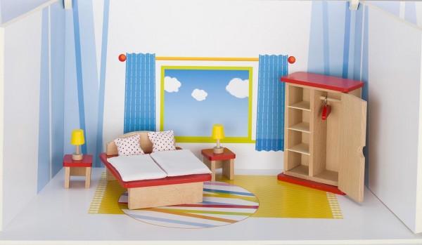 Puppenmöbel Schlafzimmer, goki basic