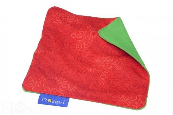 Knistertuch Rot-Grün