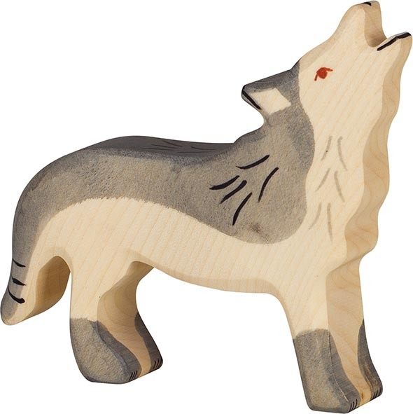 HOLZTIGER Wolf, heulend