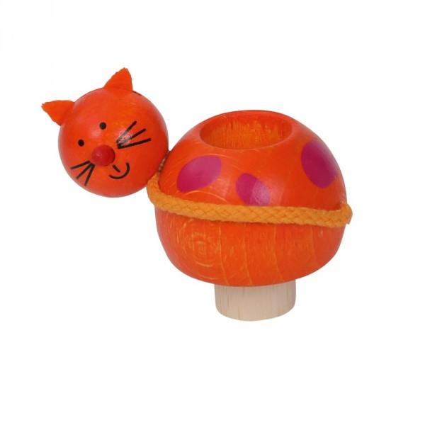 Geburtstagskranz Kerzenhalter Katze