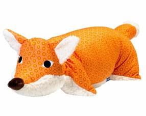Kuscheltier / Kissen Fuchs orange-teddy