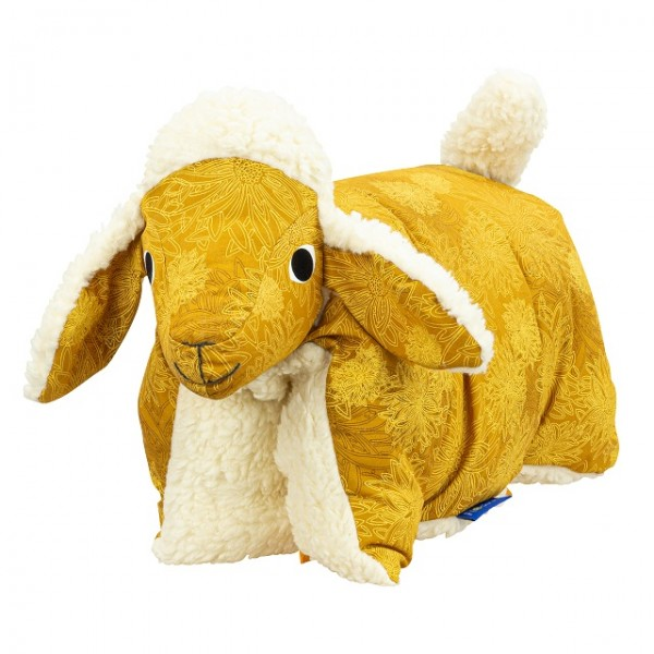 Kuscheltier / Kissen Lamm Gold-Teddy