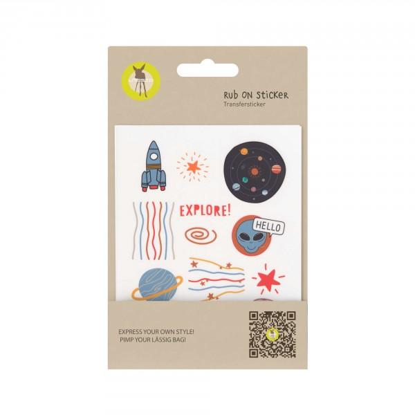 Sticker Rub On Space