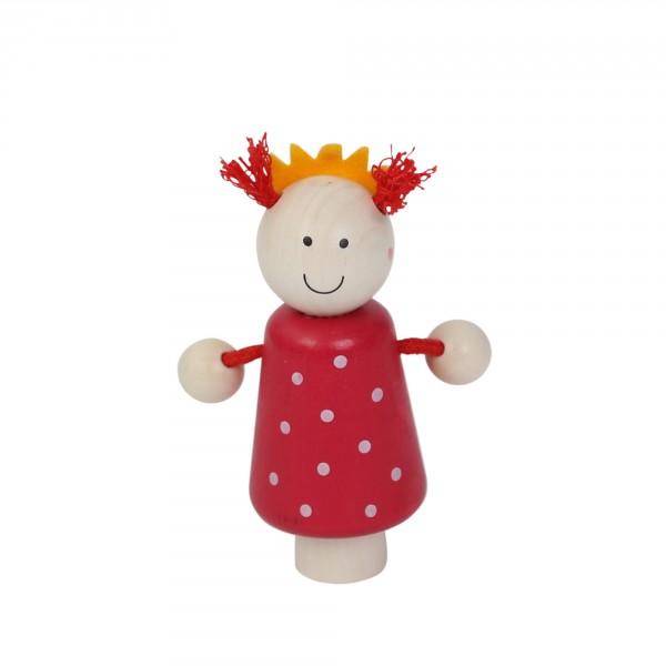 Geburtstagskranz Steckfigur Prinzessin pink