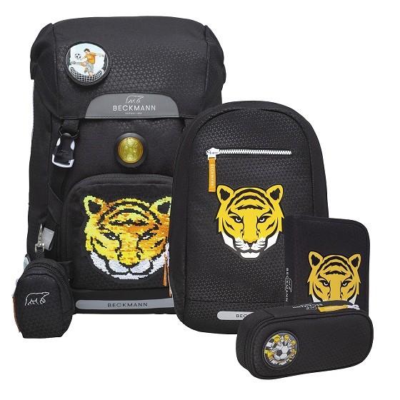 Schulranzen Set 4 tlg., Tiger Team