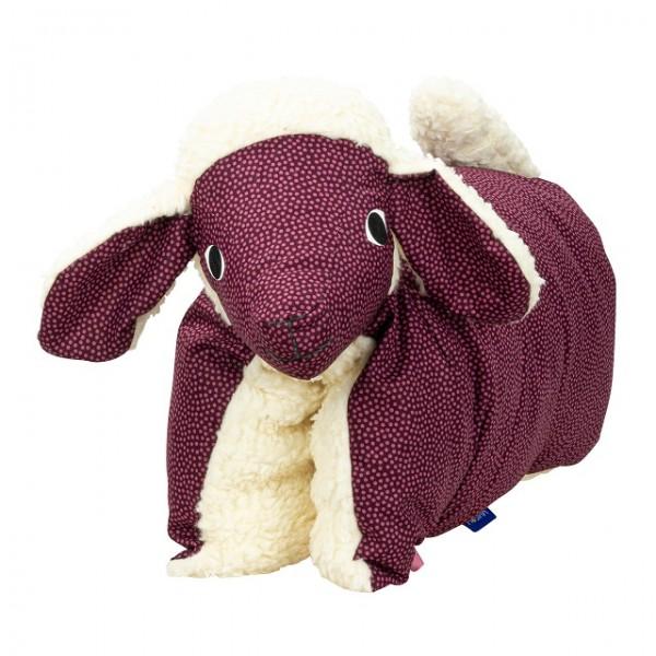 Kuscheltier / Kissen Lamm Brombeer-Teddy