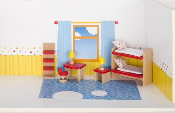 Puppenmöbel Kinderzimmer, goki basic