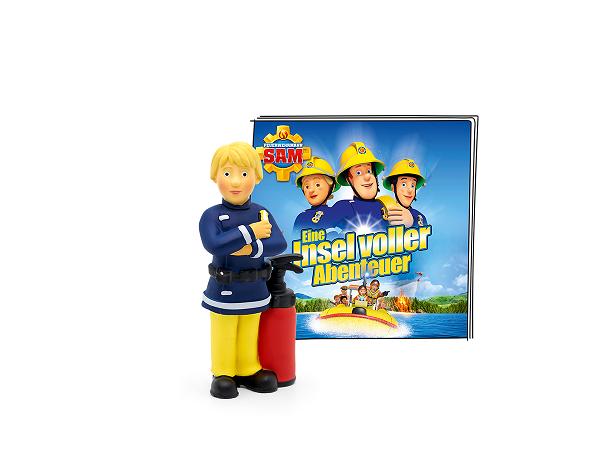 """Tonie """"Feuerwehrmann Sam - Eine Insel voller Abenteuer"""""""
