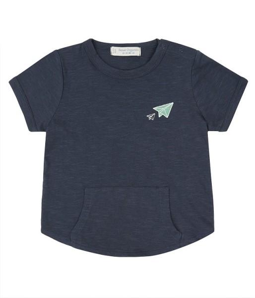 Baby T-Shirt mit Känguru-Tasche TAMO