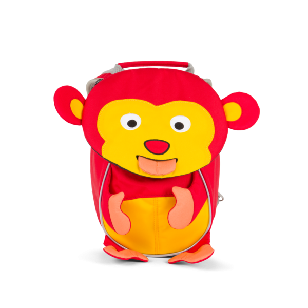 Kleiner Freund Kinderrucksack Albert Affe, rot