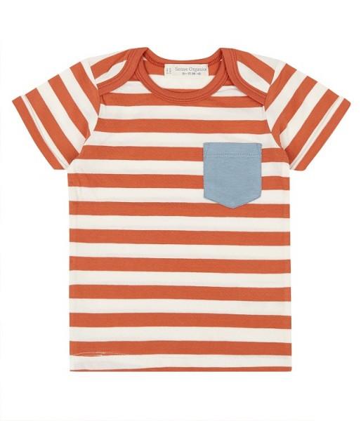 Baby T-Shirt mit kleiner Brusttasche TOBI