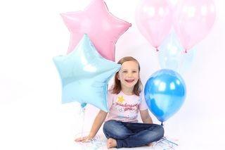 "T-Shirt ""Kindergartenkind"" mit Feenstab rosa"