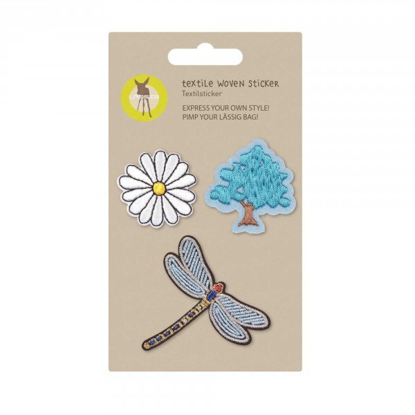 Textile Woven Sticker Nature