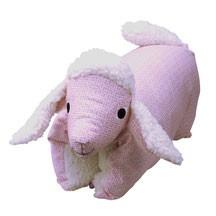 Kuscheltier / Kissen Lamm rosé-teddy