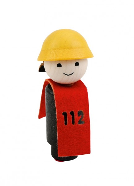 Geburtstagskranz Steckfigur Feuerwehrmann
