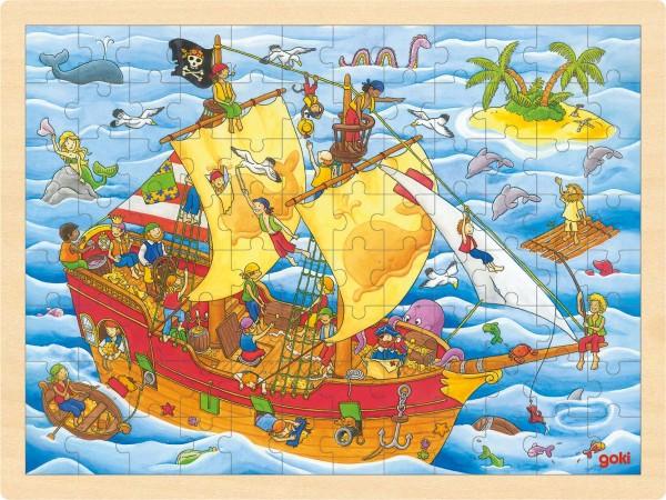 Einlegepuzzle Piraten