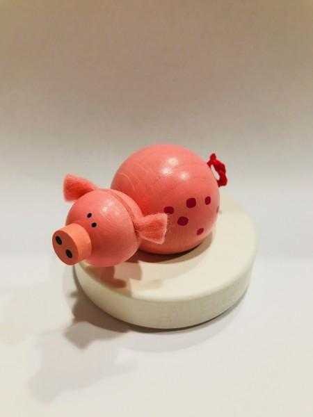 Geburtstagskranz Steckfigur Schwein