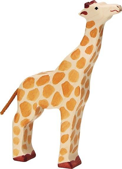 HOLZTIGER Giraffe, Kopf hoch