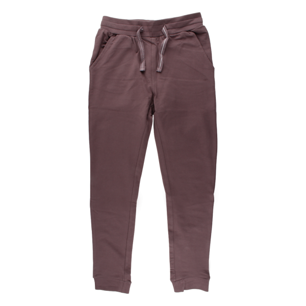 Sweat-Hose / Jogginghose, lila