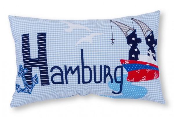 Namenskissen / Hamburg (Modell: Hamburg)