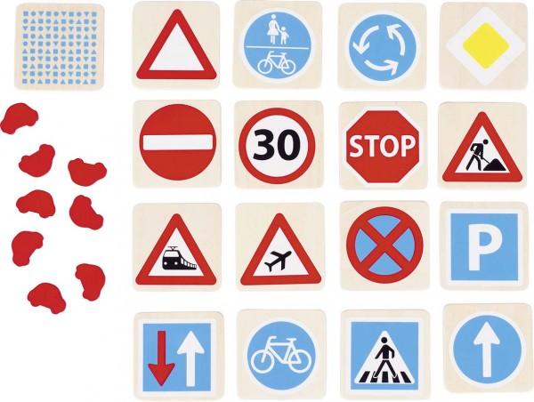 Memospiel Verkehrszeichen