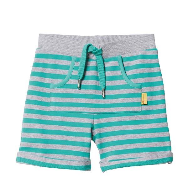Sweat-Shorts gestreift