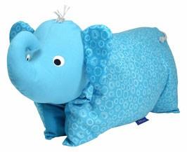 Kuscheltier / Kissen Elefant Türkis