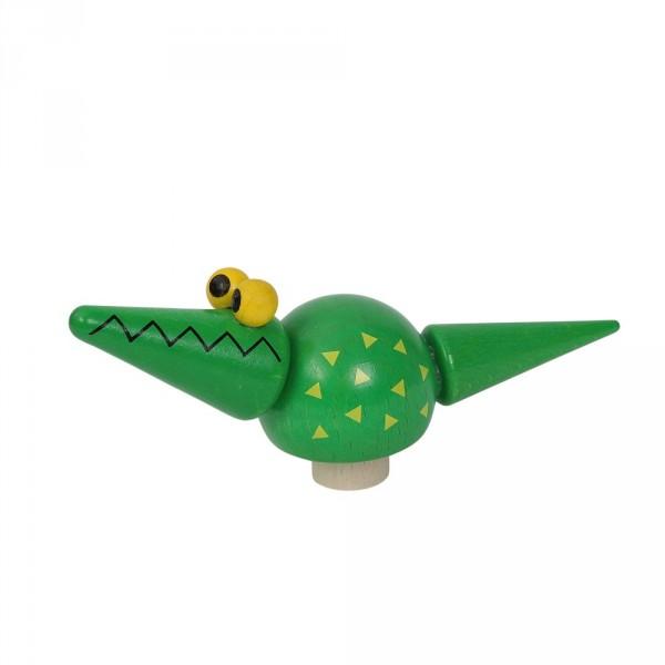 Geburtstagskranz Steckfigur Krokodil