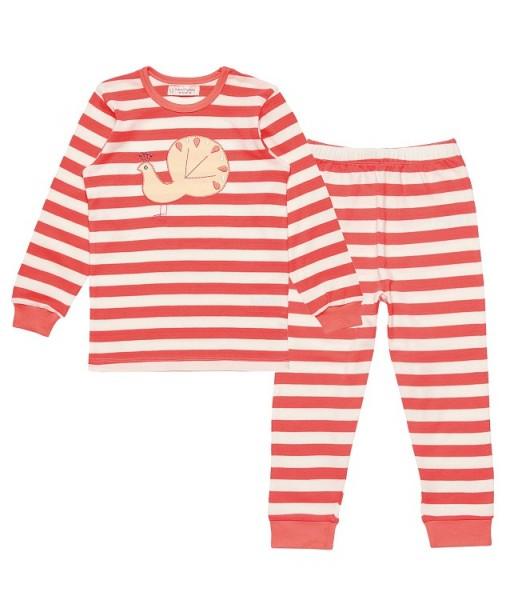 reputable site a9424 5ef4a Schlafanzug / Pyjama mit Pfau-Applikation