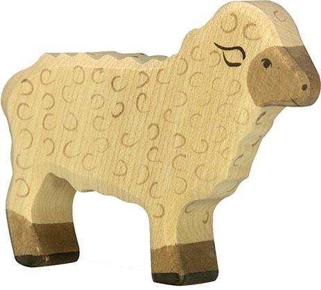 HOLZTIGER Schaf, stehend
