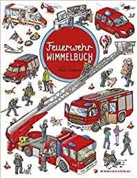 Wimmelbuch - Feuerwehr